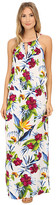 Tommy Bahama Happy Hibiscus High Neck Long Dress Cover-Up