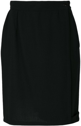 Versace Pre-Owned Straight Style Skirt