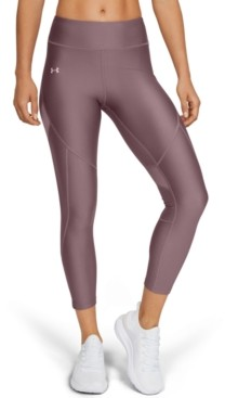Under Armour Women's Shine HeatGear Perforated Ankle Leggings