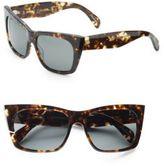 Raen 58MM Square Tortoise Sunglasses