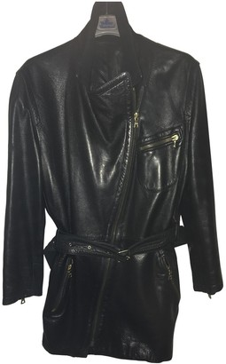 Gucci Black Leather Leather jackets