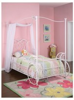 Powell Company Kids Canopy Bed Metal/White