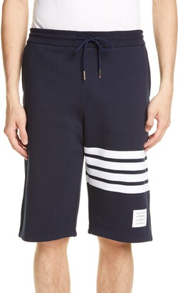 Thom Browne Four Bar Sweat Shorts