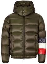 Moncler Jacket Brown / Navy / Red / White