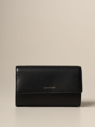 Emporio Armani Crossbody Bags Shoulder Bag In Textured Synthetic Leather