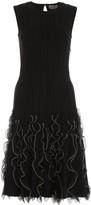 Alexander McQueen Sleeveless Ruffled Dress