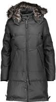 W118 by Walter Baker Farrah faux fur-trimmed coated shell hooded down coat
