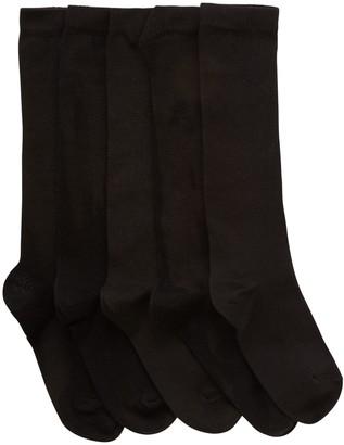 John Lewis & Partners Children's Knee High Socks, Pack of 5