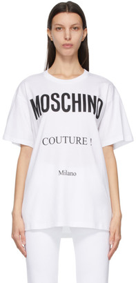Moschino White Couture T-Shirt