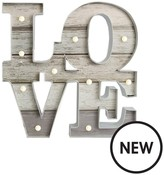 Graham & Brown Lit Love Wall Art
