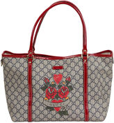 One Kings Lane Vintage Gucci Heart Tattoo Tote