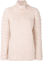Iris von Arnim ribbed detail jumper