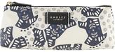 Radley Folk Dog Fabric Small Pouch Bag, Ivory