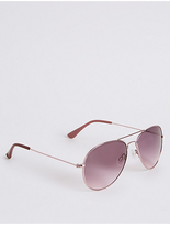 M&S Collection Aviator Sunglasses