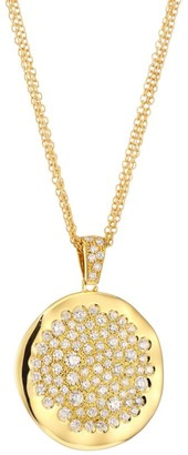 Brera Via 18K Yellow Gold & Diamond Pendant Necklace