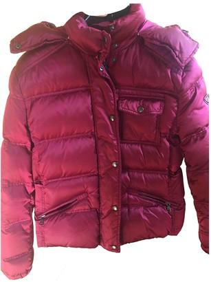 Prada Burgundy Synthetic Coats