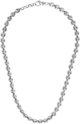 Sophie Buhai Silver Small Circle Link Necklace