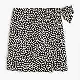 J.Crew Metallic pebble print jacquard skirt