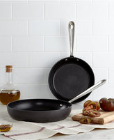"""All-Clad Hard Anodized 8"""" & 10"""" Fry Pan Set"""