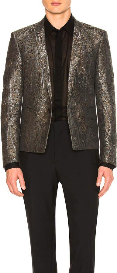 Saint Laurent Tapestry Jacquard Jacket