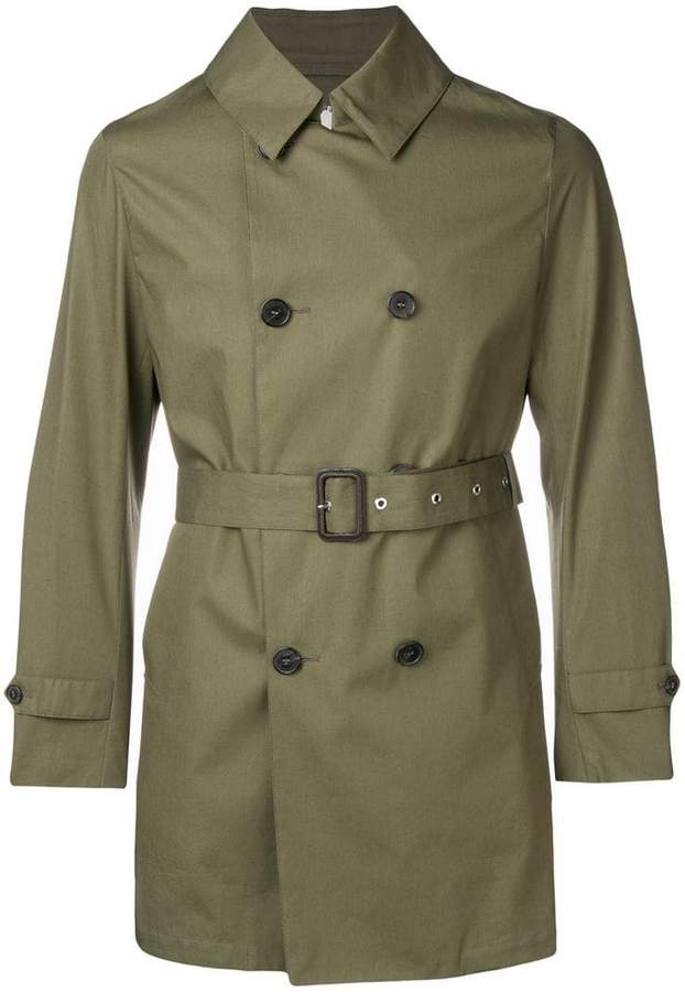 5b81cbcf63c Short Trench Coat Men - ShopStyle