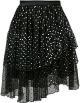 Rodarte tiered tulle skirt