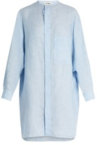 Acne Studios Siva linen-chambray dress