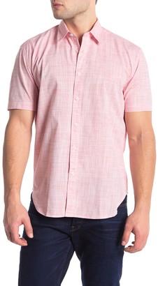 Coastaoro Woven Short Sleeve Regular Fit Shirt