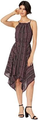 1 STATE 1.STATE Sleeveless Handkerchief Hem Rustic Muses Dress