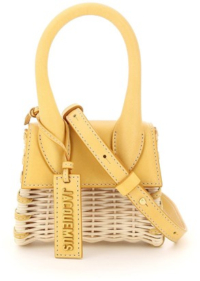 Jacquemus Le Chiquito Mini Wicker Crossbody Bag
