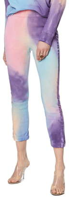 Mother The Springy Lounger Tie Dye Ankle Pants
