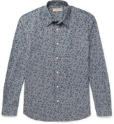 Burberry - Slim-fit Floral-print Cotton Shirt