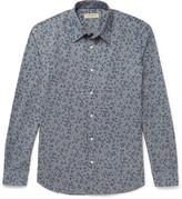 Burberry Slim-Fit Floral-Print Cotton Shirt