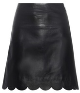 RED Valentino Leather Skirt