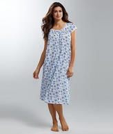 Eileen West Floral Waltz Knit Night Gown - Women's