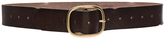 Linea Pelle Vintage Multi Hole Belt