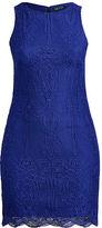 Ralph Lauren Woman Lace Sleeveless Dress