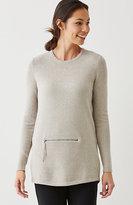 J. Jill Pure Jill Zip-Pocket Pullover