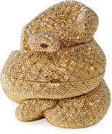 Judith Leiber Couture Snake Golden Cobra Minaudiere