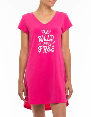 Joe Boxer Women's Wild and Free Chemise Sleepwear