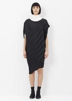 Issey Miyake black pine nut dress