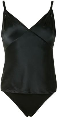 RtA Cami Top Silk Bodysuit