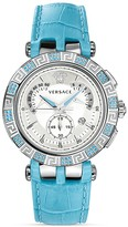 Versace V-Race Stainless Steel Chronograph Watch, 42mm