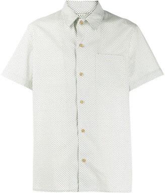 A.P.C. Polka Dot Pattern Shirt