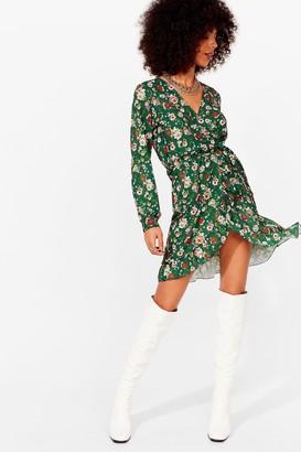 Nasty Gal Womens Growing Through the Motions Mini Dress - Beige - 8, Beige