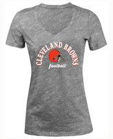 5th & Ocean Women's Cleveland Browns Checkdown LE T-Shirt