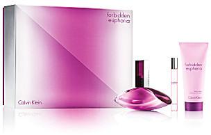 Calvin Klein Forbidden Euphoria for her 3 piece gift set