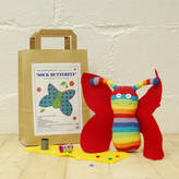 Sock Creatures Sock Butterfly Craft Kit
