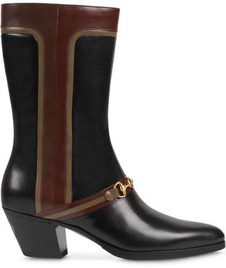 Gucci Interlocking G Horsebit boots