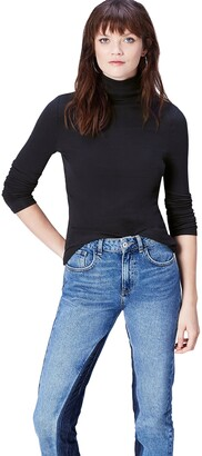 Meraki find. Women's Rib Roll Neck